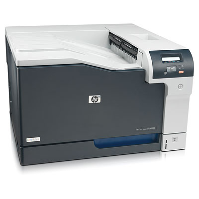 HP Color LaserJet Professional CP5225n Printer (A3, 600dpi, 20(20)ppm, 192Mb, 2trays 250+100, USB/LA